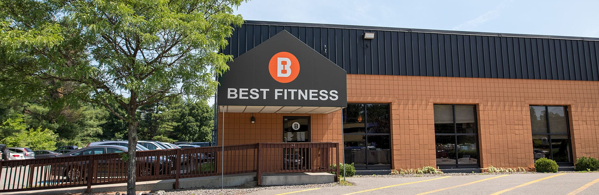 outside of best fitness gym in nashua