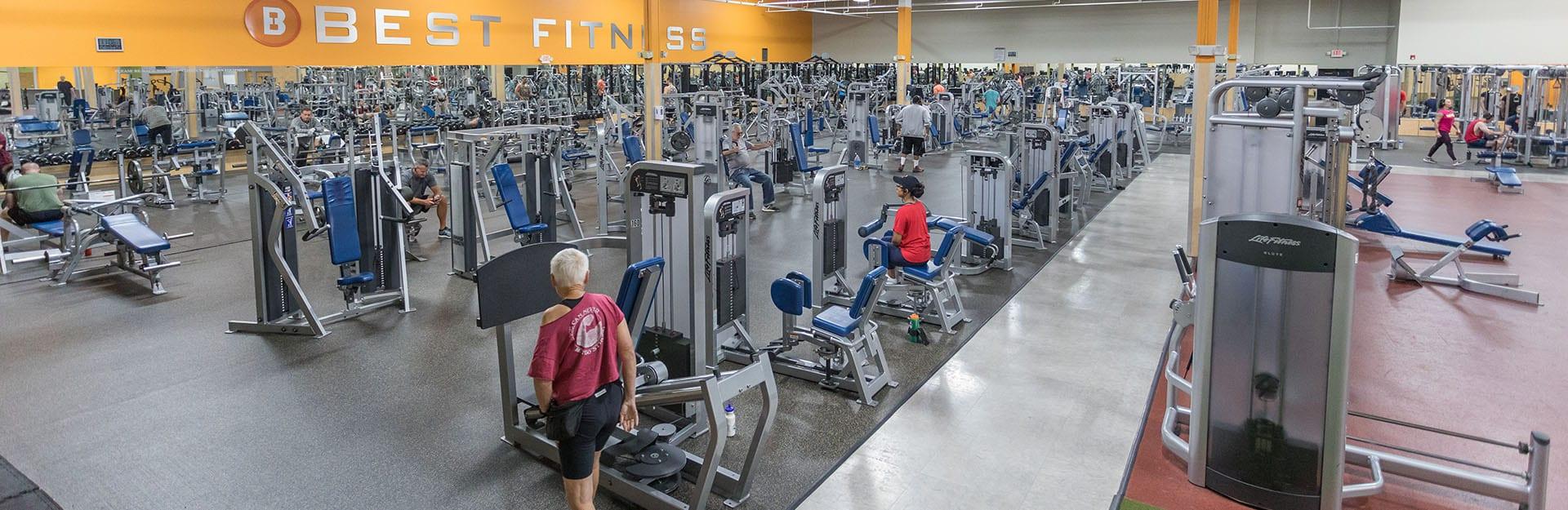 spacious modern gym in schenectady