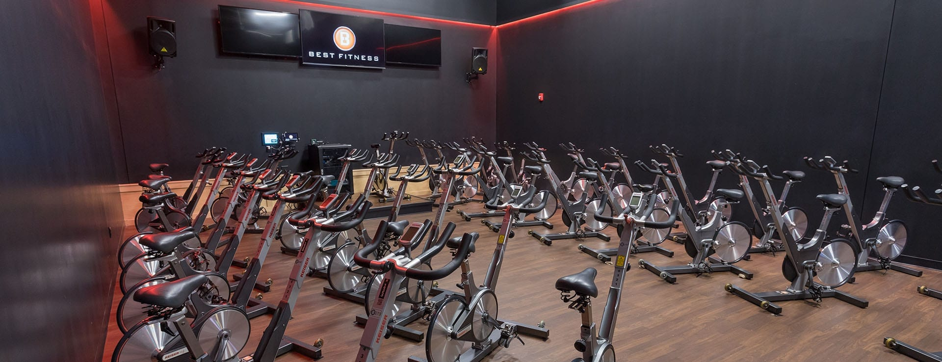 cycling studio at best gym near me